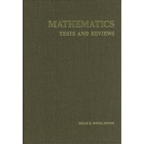 Mathematics Tests and Reviews by Buros Center for Testing, 9780910674188