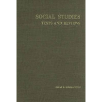 Social Science Tests and Reviews by Buros Center for Testing, 9780910674225
