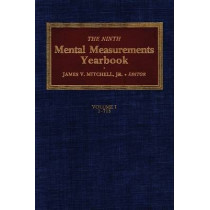 The Ninth Mental Measurements Yearbook by Buros Center for Testing, 9780910674294