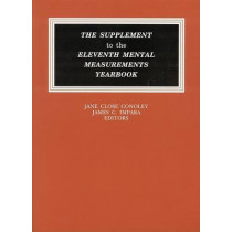 The Supplement to the Eleventh Mental Measurements Yearbook by Buros Center for Testing, 9780910674348
