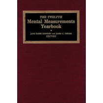 The Twelfth Mental Measurements Yearbook by Buros Center for Testing, 9780910674409