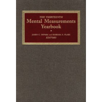 The Thirteenth Mental Measurements Yearbook by Buros Center for Testing, 9780910674546