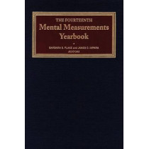 The Fourteenth Mental Measurements Yearbook by Buros Center for Testing, 9780910674553