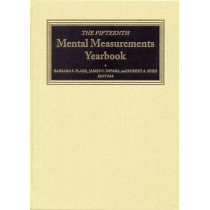 The Fifteenth Mental Measurements Yearbook by Buros Center for Testing, 9780910674577