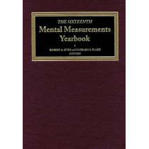 The Sixteenth Mental Measurements Yearbook by Buros Center for Testing, 9780910674584