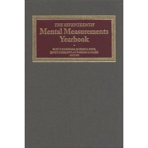 The Seventeenth Mental Measurements Yearbook by Buros Center for Testing, 9780910674607