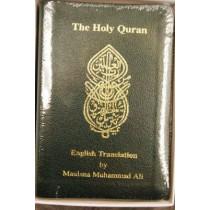 The Holy Quran: English Translation by Maulana Muhammad Ali, 9780913321775
