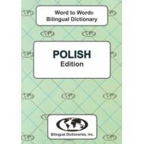 English-Polish & Polish-English Word-to-Word Dictionary: Suitable for Exams by C. Sesma, 9780933146648
