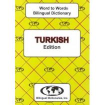 English-Turkish & Turkish-English Word-to-Word Dictionary: Suitable for Exams by C. Sesma, 9780933146952