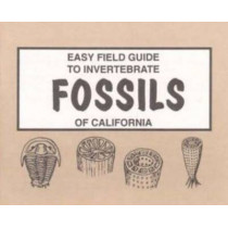 Easy Field Guide to Invertebrate Fossils of California by Sharon Nelson, 9780935810592
