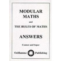 Modular Maths: Answers by John Connor, 9780948093098