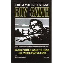 From Where I Stand by Roy Sawh, 9780950666495