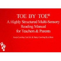 Toe by Toe: A Highly Structured Multi-sensory Reading Manual for Teachers and Parents by Keda Cowling, 9780952256403