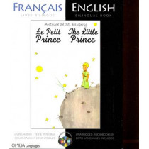 The Little Prince: French/English bilingual edition with CD by Antoine de Saint-Exupery, 9780956721594