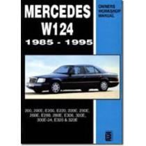 Mercedes W124 Owners Workshop Manual 1985-1995: 200, 200E, E200, E220, 220E, 230E, 260E, E280, 280E, E300, 300E, 300E-24, E320, 320E by Brooklands Books, 9780958402613