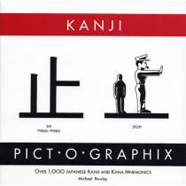 Kanji Pict-o-Graphix: Over 1,000 Japanese Kanji and Kana Mnemonics by Michael Rowley, 9780962813702