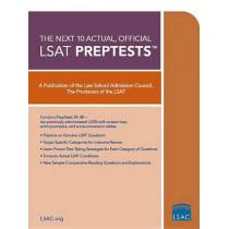 Next 10 Actual Official Lsat Preptests by Lsat Series, 9780979305054