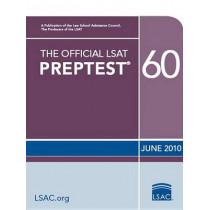The Official LSAT Preptest 60: (june 2010 LSAT) by Law School Admission Council, 9780982148761