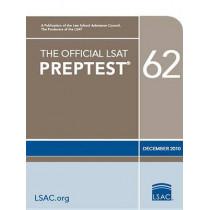 The Official LSAT Preptest 62: (dec. 2010 LSAT) by Law School Admission Council, 9780982148785