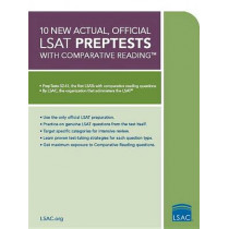 10 New Actual, Official LSAT Preptests: (preptests 52-61) by Law School Admission Council, 9780984636006