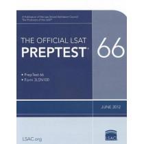 The Official LSAT Preptest 66: June 2012 LSAT by Law School Admission Council, 9780984636051