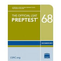 The Official LSAT Preptest 68: Dec. 2012 LSAT by Law School Admission Council, 9780984636075