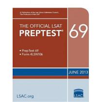 The Official LSAT Preptest 69: June 2013 LSAT by Law School Admission Council, 9780984636082