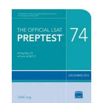 The Official LSAT Preptest 74: Dec. 2014 LSAT by Law School Admission Council, 9780986045547