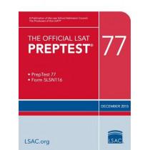 The Official LSAT Preptest 77: (dec. 2015 LSAT) by Law School Admission Council, 9780986086236