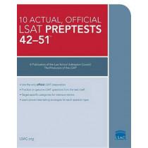 10 Actual 42-51, Official LSAT Preptests: Preptests 42a51, 9780986086298
