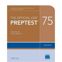 The Official LSAT Preptest 75: June 2015 LSAT by Law School Admission Council, 9780990718697