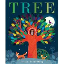Tree: A Peek-Through Picture Book by Britta Teckentrup, 9781101932421