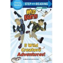 5 Wild Creature Adventures! (Wild Kratts) by Chris Kratt, 9781101939000