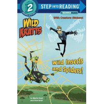 Wild Insects And Spiders! (Wild Kratts) Step Into Reading Lvl 2 by Chris Kratt, 9781101939017