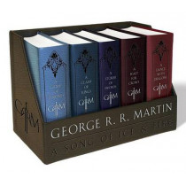 A Game of Thrones Leather-Cloth Boxed Set: A Game of Thrones, a Clash of Kings, a Storm of Swords, a Feast for Crows, and a Dance with Dragons by George R R Martin, 9781101965481