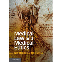 Medical Law and Medical Ethics by Nils Hoppe, 9781107015227