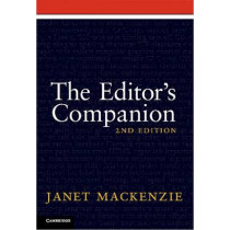 The Editor's Companion by Janet MacKenzie, 9781107402188