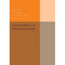 Collected Papers of Srinivasa Ramanujan by Srinivasa Ramanujan, 9781107536517