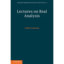 Lectures on Real Analysis by Finnur Larusson, 9781107608528