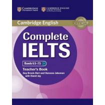 Complete IELTS Bands 6.5-7.5 Teacher's Book by Guy Brook-Hart, 9781107609648