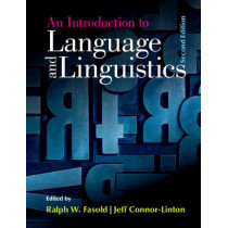 An Introduction to Language and Linguistics by Ralph W. Fasold, 9781107637993