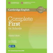 Complete First for Schools Teacher's Book by Guy Brook-Hart, 9781107683365