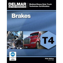 ASE Test Preparation - T4 Brakes by Delmar Cengage Learning, 9781111129002