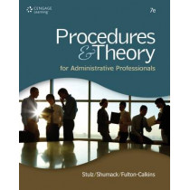 Procedures & Theory for Administrative Professionals by Patsy Fulton-Calkins, 9781111575861