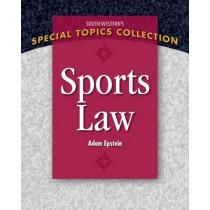 Sports Law by Adam Epstein, 9781111971663