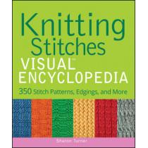 Knitting Stitches VISUAL Encyclopedia by Sharon Turner, 9781118018958