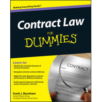 Contract Law For Dummies by Scott J. Burnham, 9781118092736