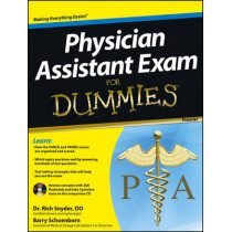 Physician Assistant Exam For Dummies: with CD by Barry Schoenborn, 9781118115565