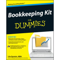 Bookkeeping Kit For Dummies by Lita Epstein, 9781118116456