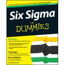 Six Sigma For Dummies by Craig Gygi, 9781118120354